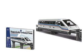 """Picture of ΠΑΖΛ Charmland 3D """"Magnetic train"""" Υ10x42x7εκ. 50 τεμαχίων"""