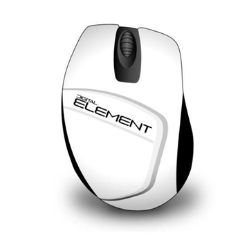 Picture of ΠΟΝΤΙΚΙ ELEMENT MS-165W WHITE WIRELESS 1200dpi 080432