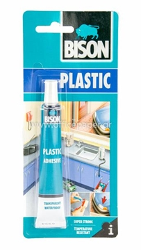 Picture of ΚΟΛΛΑ BISON PLASTIC 25ml blister pack
