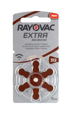 Picture of ΜΠΑΤΑΡΙΕΣ RAYOVAC EXTRA No13 6pack ΑΚΟΥΣΤΙΚΩΝ ΒΑΡΥΚ.