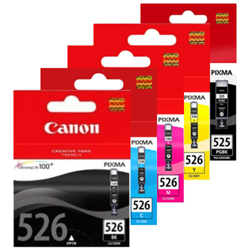 ΜΕΛΑΝΗ CANON 526 BLACK CLI-526 9ML IP4850/MG5150