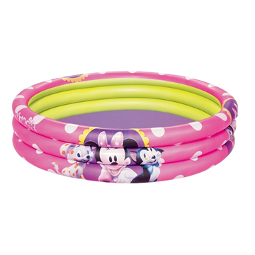 ΠΙΣΙΝΑ BESTWAY MINNIE 122X25cm 3 RING No 91060