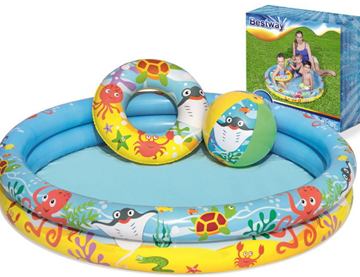 ΠΙΣΙΝΑ BESTWAY MICKEY CLUB HOUSE 122X25cm 3 RING No 91035