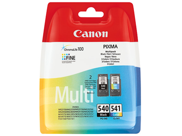 ΜΕΛΑΝΗ CANON PG-540XL-CL541XL INK VALUE PACK MG2150....