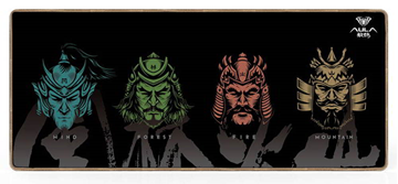 MOUSE PAD AULA gaming mouse pad MP-WFFM, 70x30x0.2cm, μαύρο
